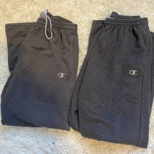 bundle of champion sweatpants
